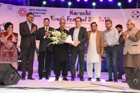Prize Distribution Of District West & South - Karachi Youth Festival 201 (