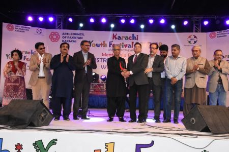 Prize Distribution Of District West & South - Karachi Youth Festival 201 ( (12)