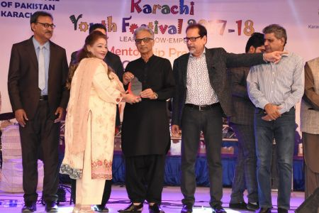Prize Distribution Of District West & South - Karachi Youth Festival 201 ( (13)