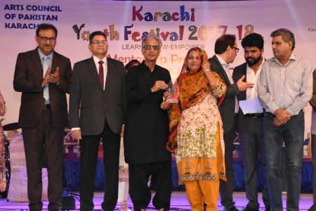 Prize Distribution Of District West & South - Karachi Youth Festival 201 ( (14)