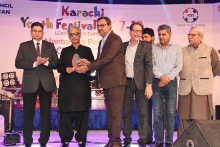 Prize Distribution Of District West & South - Karachi Youth Festival 201 ( (15)