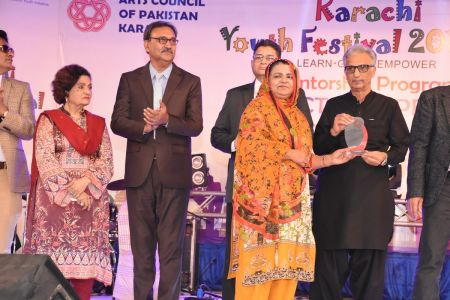Prize Distribution Of District West & South - Karachi Youth Festival 201 ( (16)