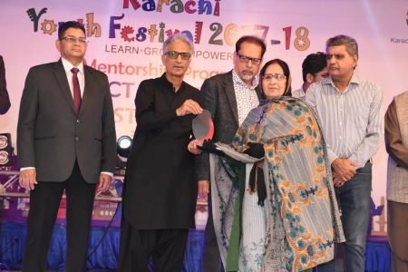 Prize Distribution Of District West & South - Karachi Youth Festival 201 ( (17)