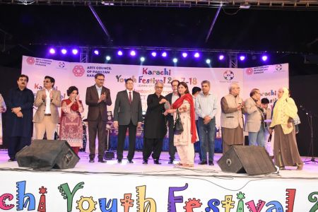 Prize Distribution Of District West & South - Karachi Youth Festival 201 ( (18)