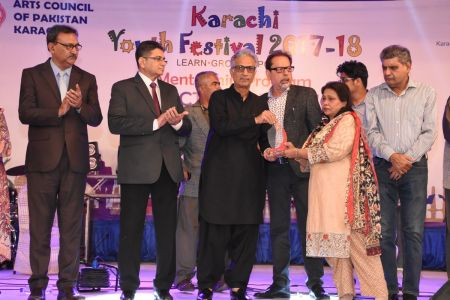 Prize Distribution Of District West & South - Karachi Youth Festival 201 ( (20)