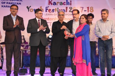 Prize Distribution Of District West & South - Karachi Youth Festival 201 ( (22)