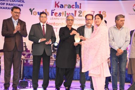 Prize Distribution Of District West & South - Karachi Youth Festival 201 ( (24)