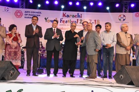 Prize Distribution Of District West & South - Karachi Youth Festival 201 ( (25)