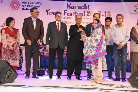 Prize Distribution Of District West & South - Karachi Youth Festival 201 ( (26)