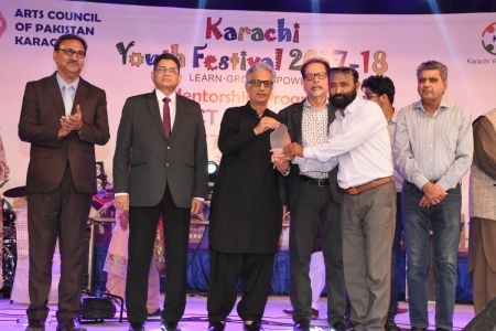 Prize Distribution Of District West & South - Karachi Youth Festival 201 ( (27)