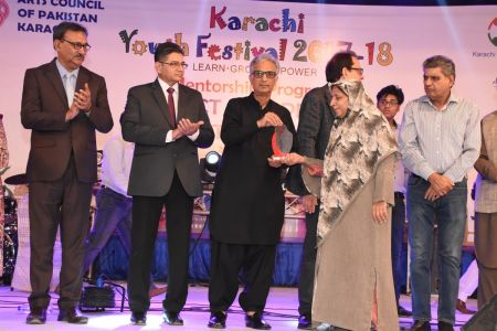 Prize Distribution Of District West & South - Karachi Youth Festival 201 ( (28)