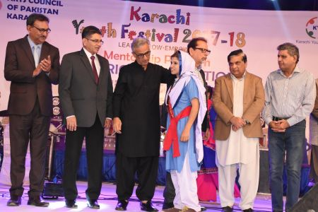 Prize Distribution Of District West & South - Karachi Youth Festival 201 ( (30)