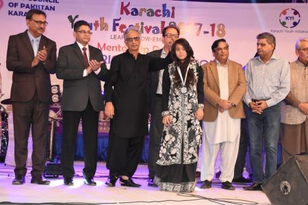 Prize Distribution Of District West & South - Karachi Youth Festival 201 ( (31)