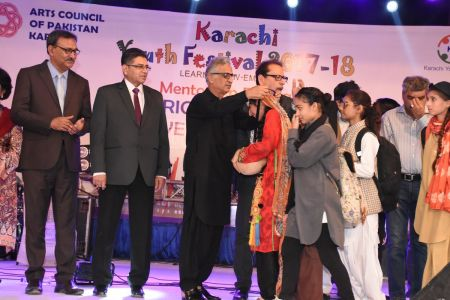 Prize Distribution Of District West & South - Karachi Youth Festival 201 ( (32)