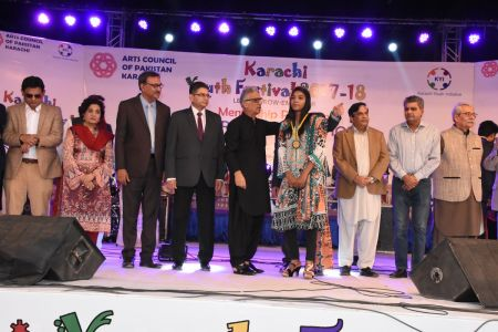 Prize Distribution Of District West & South - Karachi Youth Festival 201 ( (33)
