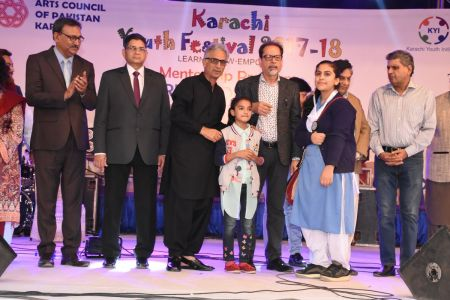 Prize Distribution Of District West & South - Karachi Youth Festival 201 ( (34)