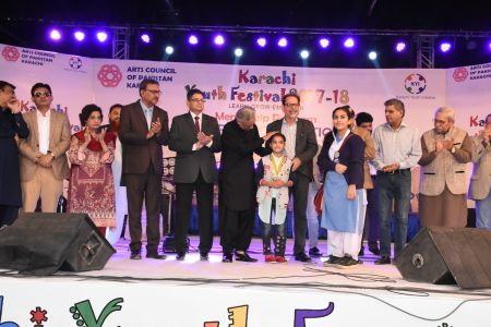 Prize Distribution Of District West & South - Karachi Youth Festival 201 ( (35)