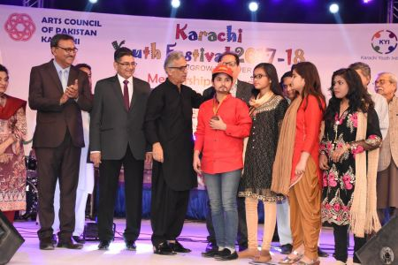 Prize Distribution Of District West & South - Karachi Youth Festival 201 ( (36)