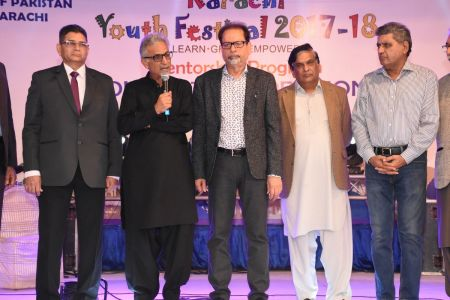 Prize Distribution Of District West & South - Karachi Youth Festival 201 ( (5)