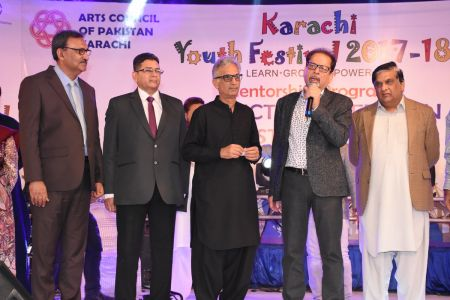 Prize Distribution Of District West & South - Karachi Youth Festival 201 ( (6)