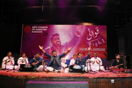Qawwali Night With Hamza Akram At Arts Council Karachi (1)