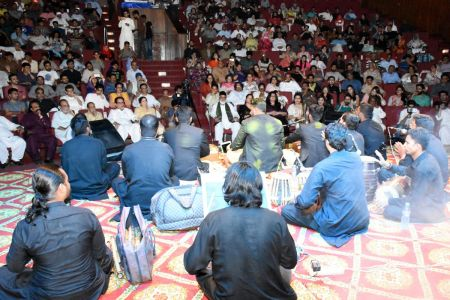Qawwali With Hamza Abbas At AC Auditorium At Arts Council Of Pakistan Karachi (17)