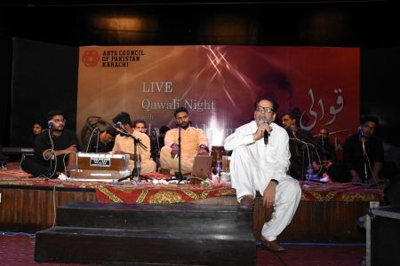Qawwali With Hamza Abbas At AC Auditorium At Arts Council Of Pakistan Karachi (1)