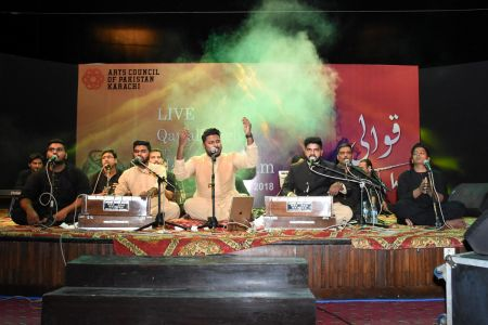 Qawwali With Hamza Abbas At AC Auditorium At Arts Council Of Pakistan Karachi (22)