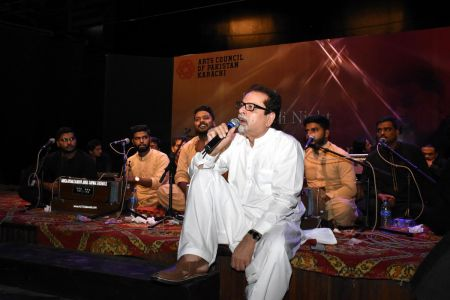 Qawwali With Hamza Abbas At AC Auditorium At Arts Council Of Pakistan Karachi (2)