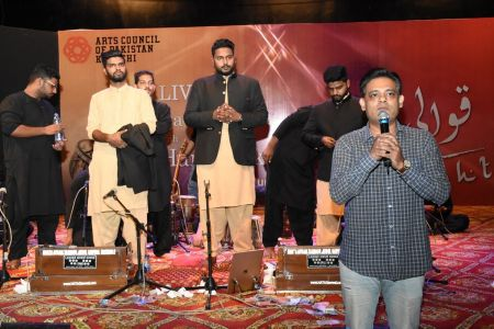 Qawwali With Hamza Abbas At AC Auditorium At Arts Council Of Pakistan Karachi (7)