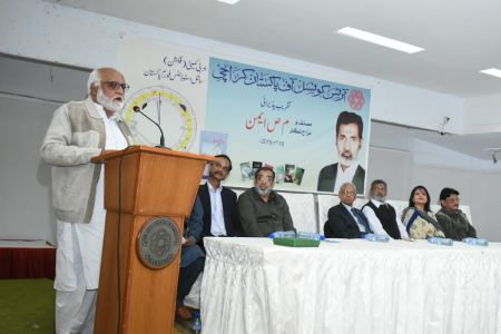 Recognition Ceremony Of M S Aemon And New Calander Inauguration At Arts Council Karachi (15)