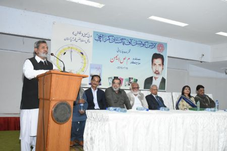 Recognition Ceremony Of M S Aemon And New Calander Inauguration At Arts Council Karachi (17)