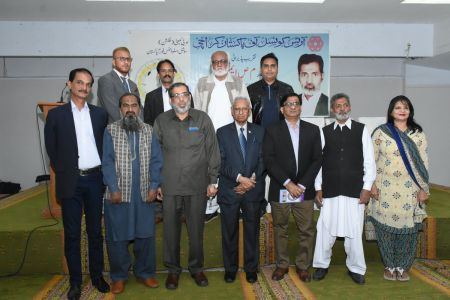 Recognition Ceremony Of M S Aemon And New Calander Inauguration At Arts Council Karachi (4)