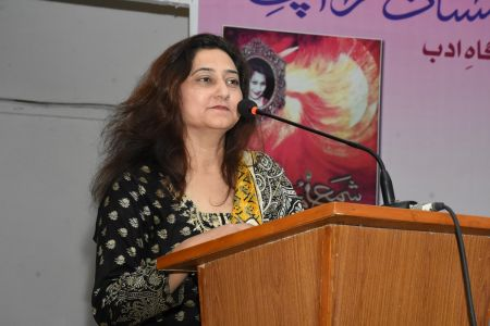 Recognition Ceremony Of The Book \'Shama E Mohabbat By Arts Council Karachi (13)