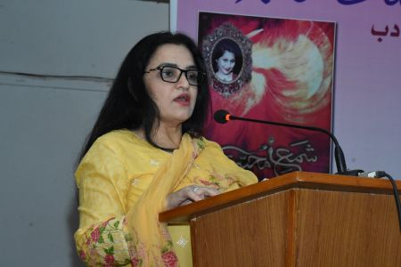 Recognition Ceremony Of The Book \'Shama E Mohabbat By Arts Council Karachi (6)