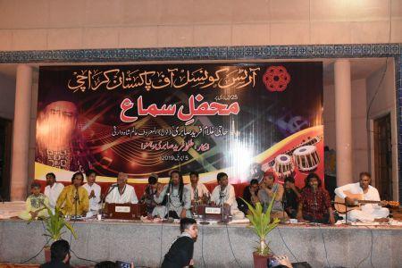 Sabri Brothers Qawali At Arts Council Karachi (1)