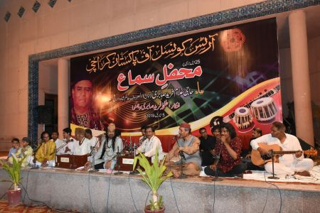 Sabri Brothers Qawali At Arts Council Karachi (2)