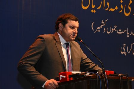 Seminar On Current Situation Of Jammu & Kashmir At Arts Council Karachi (10)