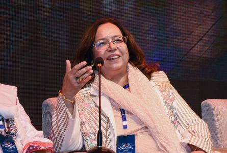 Session On Fahmida Riyaz In 12th Aalmi Urdu Conference At Arts Council Karachi  (3)