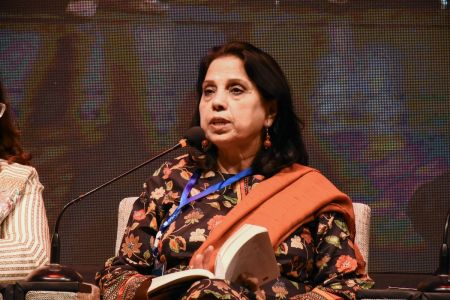 Session On Fahmida Riyaz In 12th Aalmi Urdu Conference At Arts Council Karachi  (5)