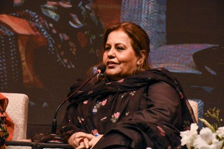 Session On Fahmida Riyaz In 12th Aalmi Urdu Conference At Arts Council Karachi  (7)