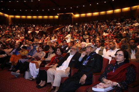 Session On Ghalib In 12th Aalmi Urdu Conference At Arts Council Karachi  (8)