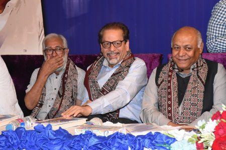 Shah Muhammad Shah\'s Book Launching, Arts Council Karachi (10)