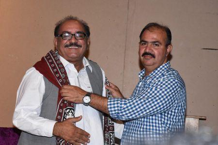 Shah Muhammad Shah\'s Book Launching, Arts Council Karachi (11)