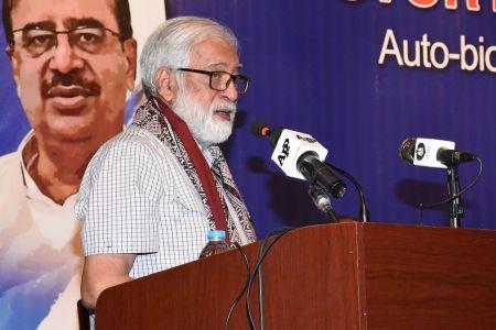 Shah Muhammad Shah\'s Book Launching, Arts Council Karachi (17)