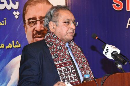 Shah Muhammad Shah\'s Book Launching, Arts Council Karachi (23)