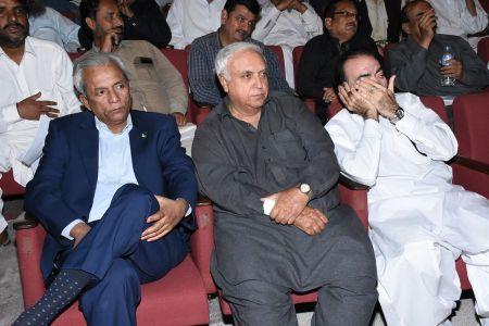 Shah Muhammad Shah\'s Book Launching, Arts Council Karachi (27)