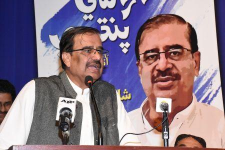 Shah Muhammad Shah\'s Book Launching, Arts Council Karachi (32)