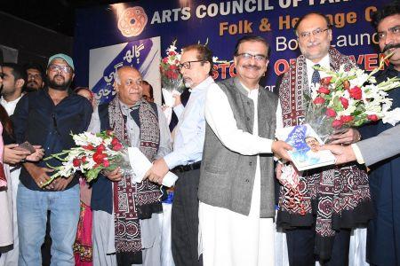Shah Muhammad Shah\'s Book Launching, Arts Council Karachi (39)