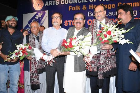 Shah Muhammad Shah\'s Book Launching, Arts Council Karachi (40)